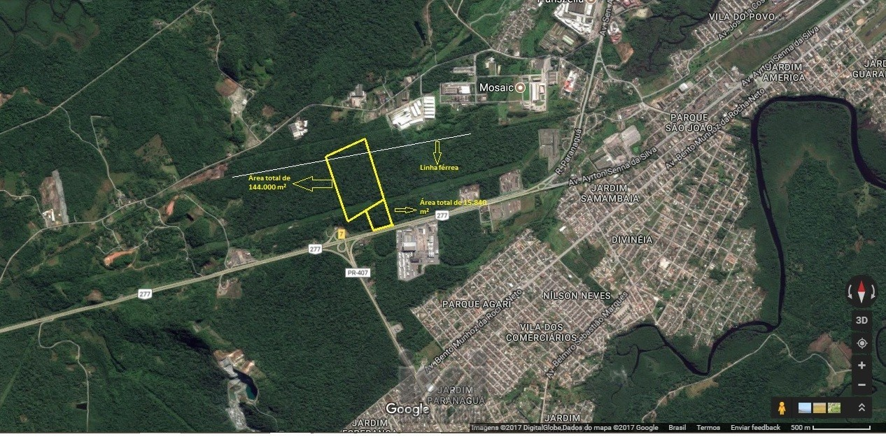 Área de Paranaguá