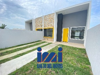 Casa 3 quartos com espaço de terreno