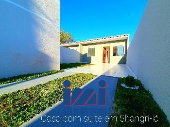 Casa nova 02 quartos Shangri-lá Pontal do Paraná