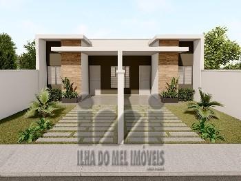 CASAS NOVAS COM 2 QUARTOS - 300 METROS DO MAR