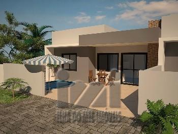 Casa c/ piscina 2 quadras do mar Balneário Eliana
