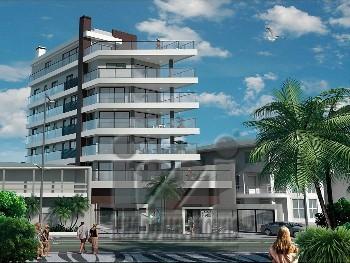 Apartamento frente mar praia brava Caioba