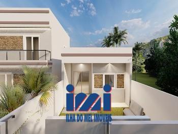 Casa 02 quartos Coroados 100 metros da Praia