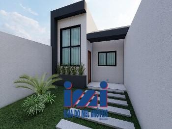 Casa moderna com 3 quartos piscina próximo ao mar